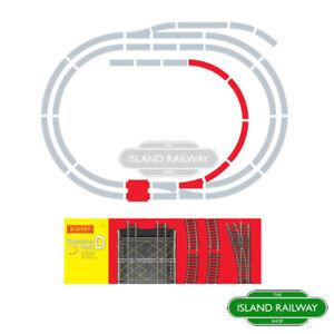 Hornby R8224 Track Extension Pack D Standard Single OO Gauge 1:76 Scale