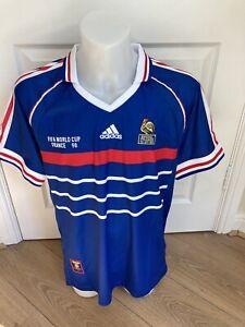 France Football Shirt 1998 Classic Soccer Jersey