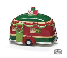 Ceramic Holiday Camper Cookie Jar by Burton + Burton