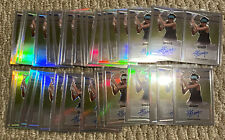 2016 Leaf Metal Tennis Shuai Zhang Auto Autograph Lot of 34 Cards
