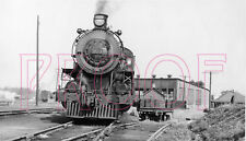 Canadian Pacific Railway (CP) Engine 953 leaving Orangeville Roundhouse - 8x10