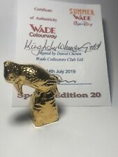 WADE Kingfisher Whimsie Gold LE 20