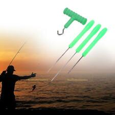 4 in 1 Combo Set Carp Fishing Rigging Bait Needle Kit Tool Drill Tackle Green