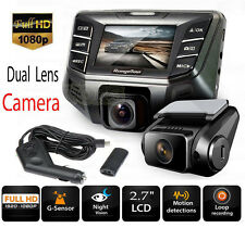 "B70 Plus 2.7"" Car DVR Camera Dual Lens Novatek 96655 Full HD 1080P 12.0MP Camera"