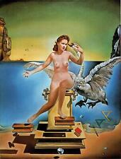 Leda atomica Salvador Dali Poster Canvas Picture Art Print Premium Quality
