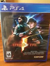 PS4 Resident Evil 5 Five + EXTRA's! NEW SEALED Region Free plays on all consoles