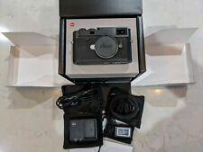 Leica M10-P 24MP Digital Rangefinder Camera - Black Chrome (20021)