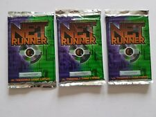 "NET RUNNER  CCG  "" EARLY FACTORY SEALED BOOSTER ""  x  3   WOC"