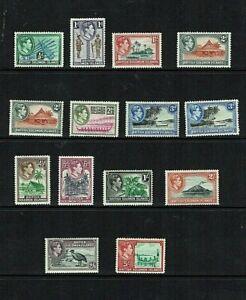 British Solomon Islands: 1939, King George VI definitive  set to 5/- MLH