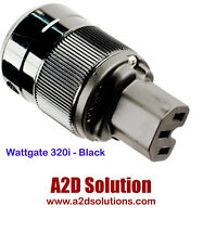 Wattgate 320i BLACK - Standard ICE Power Connector - 15A/125VAC or 10A/250VAC