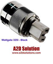Wattgate 320i BLACK - Standard ICE Power Connector - 15A/125VAC or 10A/250VAC