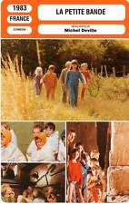 FICHE CINEMA : LA PETITE BANDE - Chandler,Dassule,Deville 1983 The Little Bunch