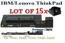 Lot of 15x 4337 Lenovo IBM Thinkpad Dock Type Series  for T410, T420, T510,T520