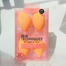 Real Techniques Miracle Beauty Sponge 1 box of 4 pcs Latex-Free Makeup Blender