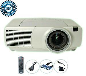 Refurbished Infocus LP840 3LCD Projector 3500 ANSI HD 1080i HDMI-Adapter bundle