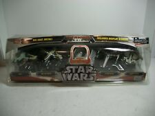 STAR WARS TITANIUM SERIES RAW METAL TIE BOMBER 5 PACK SLAVE 1, X-WING, etc MISB