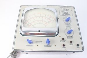Hickok 225k Vintage Quali-Kit Electronic Analog Volt-Ohmmeter