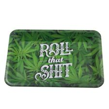 Tinplate Metal Tobacco Rolling Tray Storage Plate Discs For Smoke Grinder Cigare