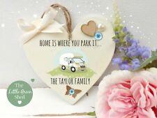 Personalised Campervan Plaque Holiday Home Gran Grandad Mum Dad Friend Gift