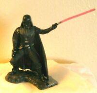 """Hasbro Star Wars Darth Vader with Lightsaber 2.75""""  2006 LFL plastic"""
