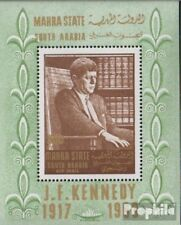 aden - mahra state Bloc 1a (complète edition) neuf avec gomme originale 1967 joh
