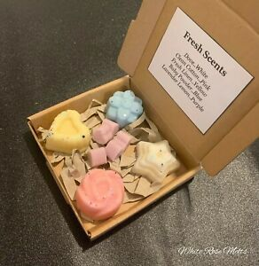 FRESH AND CLEAN WAX MELTS Highly Scented Soy Wax Melts Gift Sets Mixed Box