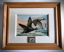 Rare 1996 Federal Duck Stamp Print Canvas Edition - Wilhelm Goebel - 45 of 300