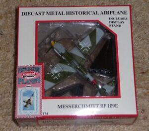 MIB Postage Stamp Planes 1:87 Model Power Diecast Messerschmidt BF-109E #5336