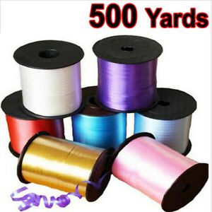 450 meter / 500 yards Curling 5mm Ribbon -Wrapping Balloon-Full Roll-Multicolors