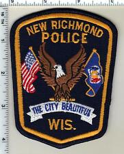 New Richmond Police (Wisconsin) Shoulder Patch from 1992
