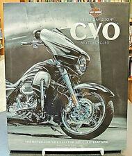 Harley-Davidson CVO Motorcycles Motor Company's Custom Vehicle Operations Stemp