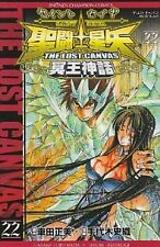 SAINT SEIYA LOST CANVAS ANIME JAPAN MANGA BOOK VOL.22