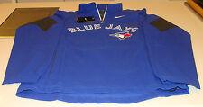 2014 Toronto Blue Jays MLB Baseball M Shield Hot Corner Jacket 1/4 Zip Light