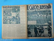 1951 il calcio illustrato 12 napoli juventus roma genoa boniperti amadei hansen