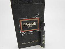 Guy Laroche Drakkar Noir eau de toilette vintage original formula 1.2ml vial