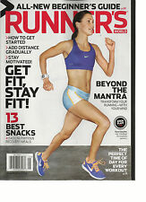 RUNNER'S WORLD, MAY, 2013 ( ALL NEW BEGINNER'S GUIDE * GET FIT STAY FIT ! )