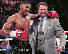 Eddie Hearn-BOXING Promoter-SIGNED AUTOGRAFO RISTAMPA