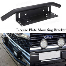 2018 Bar Front Bumper License Plate Mount Bracket Led Work Light Holder OffRoad