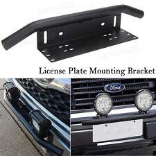 """23"""" Bar Front Bumper License Plate Mount Bracket Holder LED Light Off Road Trunk"""
