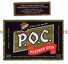 Lot of 4 Cleveland POC//Regal Beer Neck labels Pilsener OH Tavern Trove