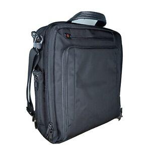 VICTORINOX SWISS ARMY Laptop Brief Case Bag Canvas Professional Business Cs2