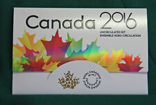 2016 Canada Brilliant Uncirculated set - IN STOCK - all the traditional designs