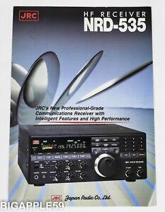 Japan Radio JRC NRD-535 Receiver Advertising Brochure