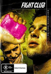 Fight Club Definitive Edition - Rare DVD Aus Stock -Excellent