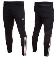 Adidas Regista 18 Training Pants Mens Tracksuit Football Bottoms Black Tapered
