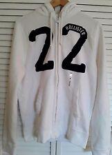 NWT   HOLLISTER  Emerald Cove full zip hoodie -  Men's size M Medium  NEW