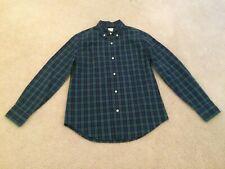 Crewcuts Boys Cotton Plaid Long Sleeve Shirt Size 12 !!!