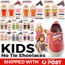 Kids Shoelaces Lazy Slip-on No Tie Elastic Silicone Sporting Sneaker For Child