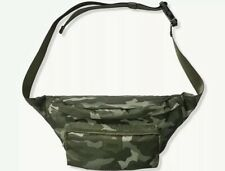 Victoria's Secret PINK Camo Oversized Belt Bag Fanny Pack, New
