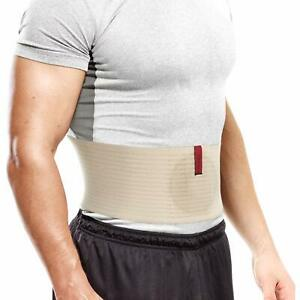 "Premium Umbilical Hernia Belt 6.25"" Abdominal Binder With Hernia Support Pad"